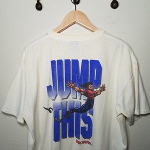 Vintage 90's No Fear Jump This Graphic Tee XL